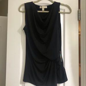 Michael Kors Black Dressy Sleeveless Top